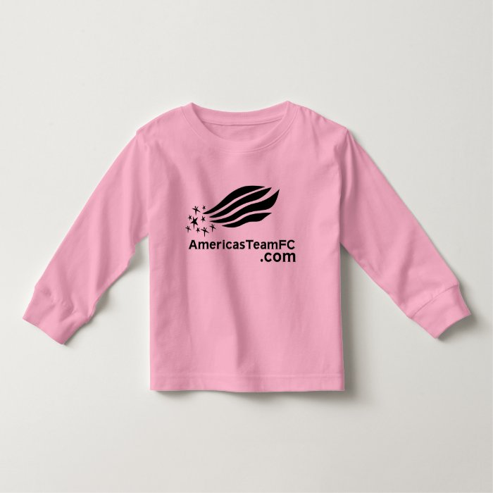 girls t-shirt america's team fc