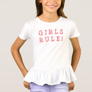 Girls t-shirt Girls Rule!