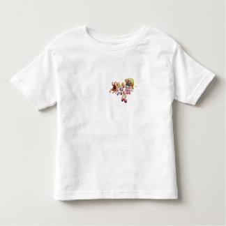 Girl's T-Shirt - Nine Dollies in a Row