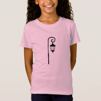 Girls T-shirt, Wellesley Lamppost Design T-Shirt