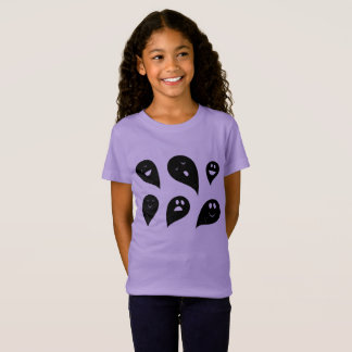 Girls t-shirt with ghosts / NEW IN SHOP