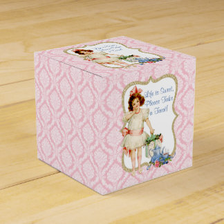 Girls Tea Party Favor Box