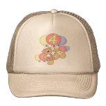 Girls Teddy Bear 4th Birthday Gifts Trucker Hat
