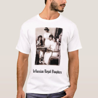 Girls, The Russian Royal Daughters T-Shirt