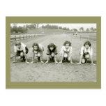 Girls Track, 1920s Postcards