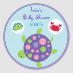 Girls Under the Sea  Stickers Cupcake Toppers