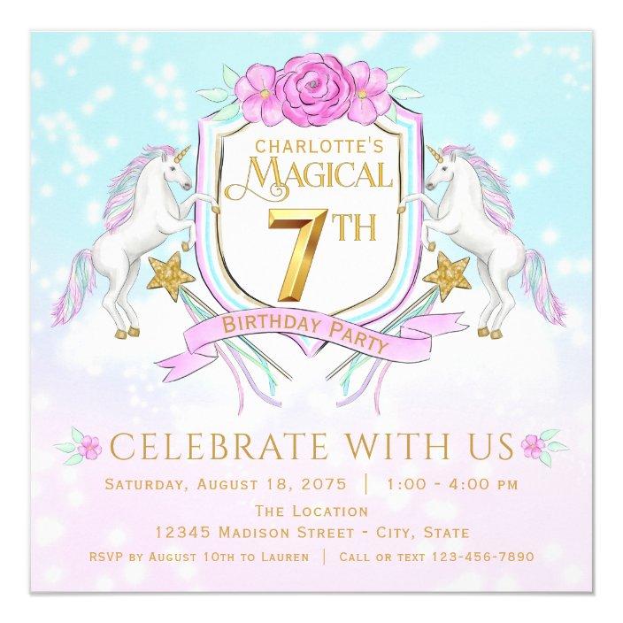 Unicorn Luna Belle-Gifts Decoration Birthday enrolment Mitgebsel Unicorn Girl
