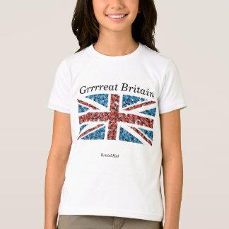 Girl's Union Jack T-shirt