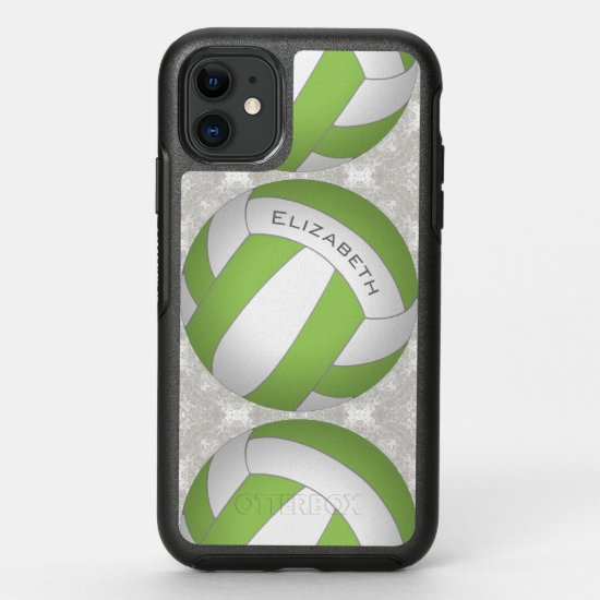 girls' volleyball any color OtterBox symmetry iPhone 11 case