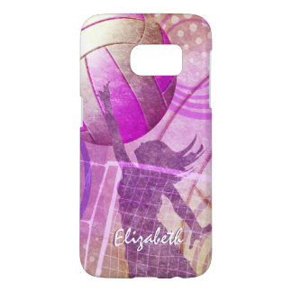 Girls Volleyball Samsung Galaxy S7 Case