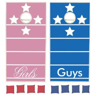 Girls vs Guys Cornhole Set