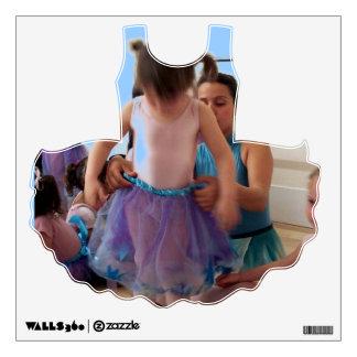 GIRLS WALL DECAL - BALLET SCHOOL-HELP LESSON