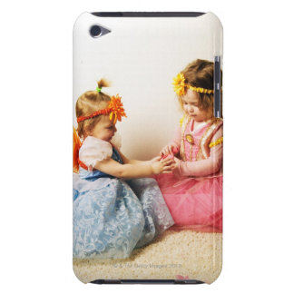 Girls wearing fairy costumes indoors iPod touch Case-Mate case