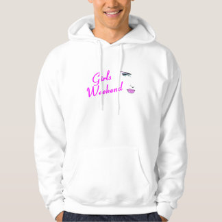 Girls Weekend (Face) Hooded Pullover