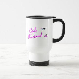 Girls Weekend Face Mug