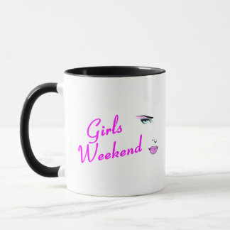 Girls Weekend (Face) Mug