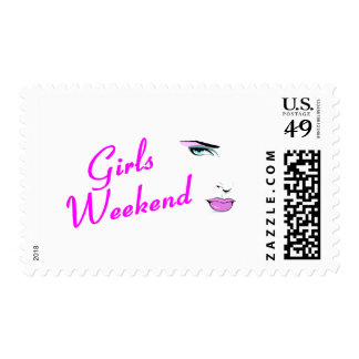 Girls Weekend (Face) Postage