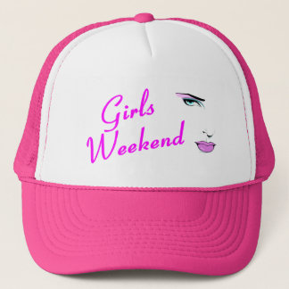 Girls Weekend (Face) Trucker Hat