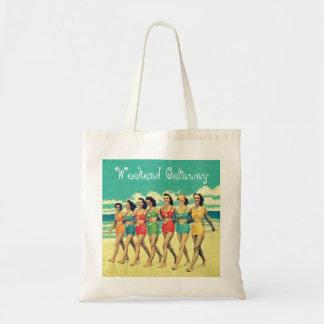Girls weekend getaway tote bag