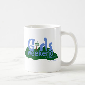Girls Weekend in the Mountains Classic White Coffee Mug