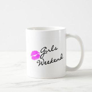 Girls Weekend (Kiss Blk) Classic White Coffee Mug