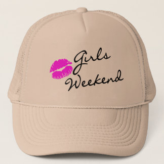 Girls Weekend (Kiss Blk) Trucker Hat