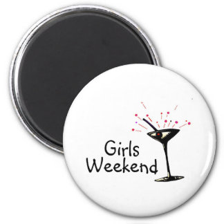 Girls Weekend Magnet