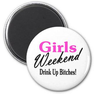 Girls Weekend Fridge Magnet