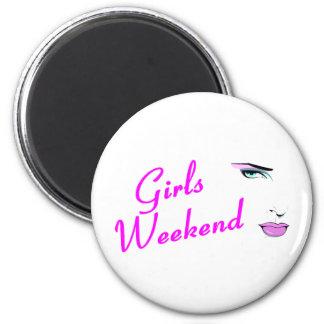 Girls Weekend Refrigerator Magnet