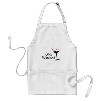Girls Weekend (Martini 1) Adult Apron