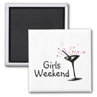 Girls Weekend (Martini 1) Magnets