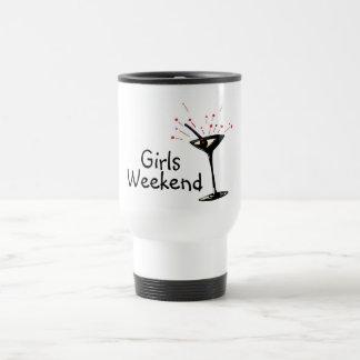 Girls Weekend (Martini 1) 15 Oz Stainless Steel Travel Mug