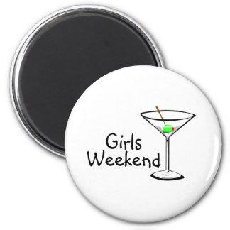 Girls Weekend Martini 2 Magnet