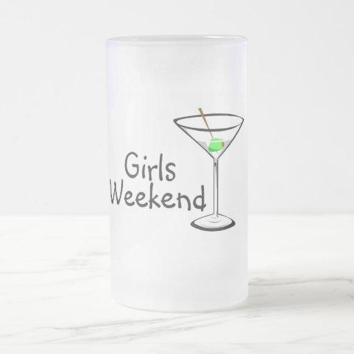 Girls Weekend Martini Coffee Mugs