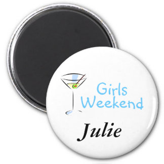 Girls Weekend Martini Magnet