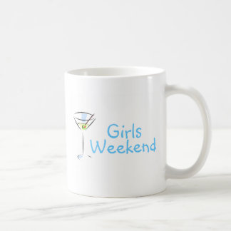 Girls Weekend Martini Classic White Coffee Mug