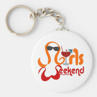 Girls Weekend Party Key Chain