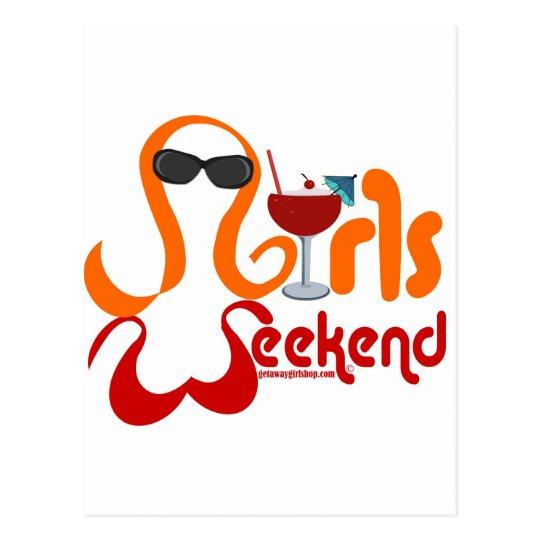 Girls Weekend Party Postcard