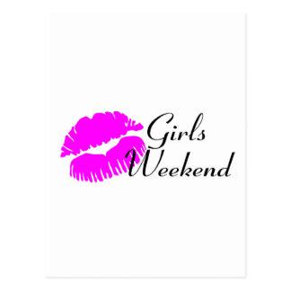 Girls Weekend (Pink Lips) Postcard