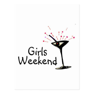 Girls Weekend Postcard