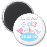 Girl's Weekend Save the Date Magnet