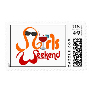 Girls Weekend Stamp