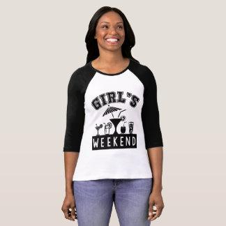 Girl's Weekend T Shirt