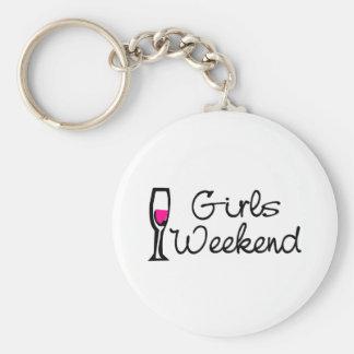 Girls Weekend (Wine) Keychain