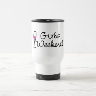 Girls Weekend Wine Travel Mug