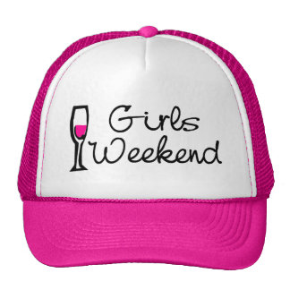Girls Weekend Wine Trucker Hat