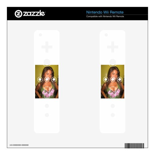Girls with Class Wii Remote Decals