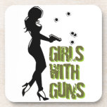 Girls With Guns Coasters