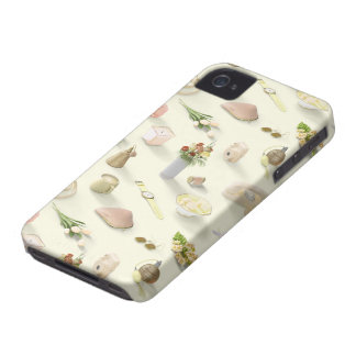Girl's Yellow Dream iPhone 4 Cover