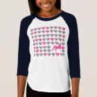 Girls' Youth 3/4 Sleeve - Saddlebred Lover T-Shirt
